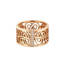 Poiray, Pink gold ring