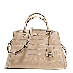 Embossed Croc Small Margot Carryall