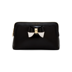 Ted Baker Colour block bow make-up bag