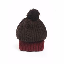 Só Collective Electronic Sheep burgundy hat