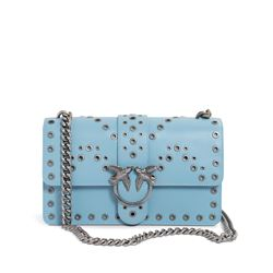 Pinko, light blue Love bag