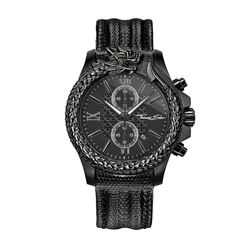 Watch in black by Thomas Sabo at Wertheim Village