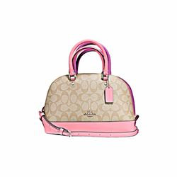 Coach Signature Messico mini sierra satchel