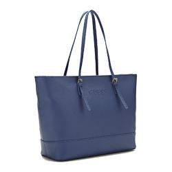 Guess Libby blue tote bag