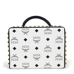 Bag in black/white by MCM at Ingolstadt Village