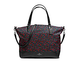 Shopper 'Floral' in red by Coach at Ingolstadt Village