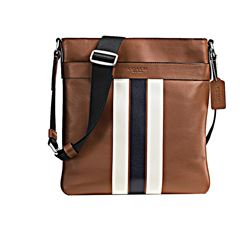 Crossbody 'Charles' in Braun von Coach in Wertheim Village