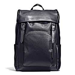 Henry Backpack in Pebble Smooth Leather