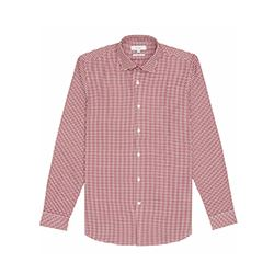 Reiss Silver red houndstooth shirt
