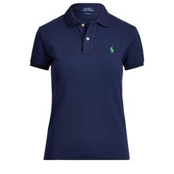 Women's polo shirt in blue by Polo Ralph Lauren at Ingolstadt Village