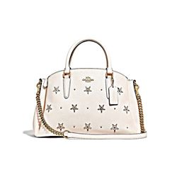 Coach Women's Chalk All Over Studs Sage Carryall