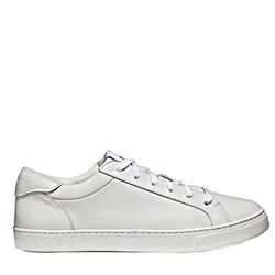 Men's sneaker in white by Coach at Wertheim Village