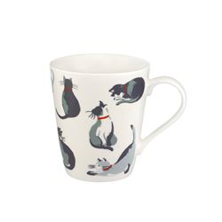 Cath Kidston  Stanley mug painted cats from Bicester Village