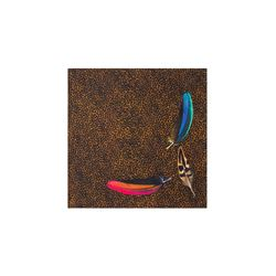 Paul Smith men's Feather Pocketsquare