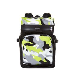 Michael Kors Men's Neon Yellow Cycling Backpack