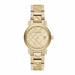 Watch Station Burberry gold watch