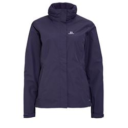 Women's hiking jacket in purple