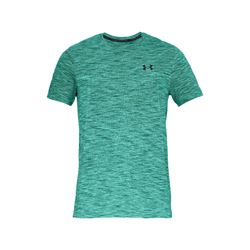 Under Armour Men's Green Seamless Short-Sleeve