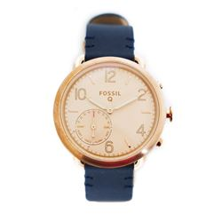 Fossil Q Gold and Navy