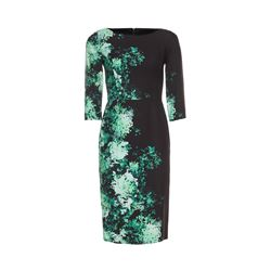 Goat  Green floral dress from Bicester Village