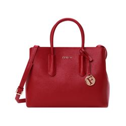 Furla cabernet Tessa small tote from Bicester Village