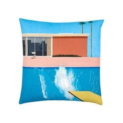 TATE  Hockney A Bigger Splash cushion cover from Bicester Village