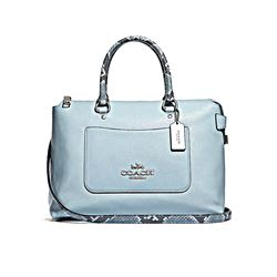 Coach Pale Blue Emma Satchel