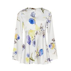 Acne Studios  Bahari white floral top from Bicester Village