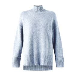Jigsaw Knit polo neck in grey