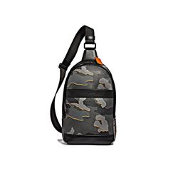 Coach Charles Pack in Camo Pvc
