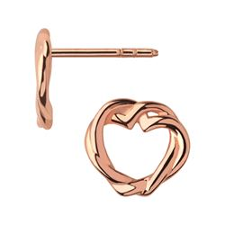 Links of London Kindred Soul Stud Rose Gold Earrings