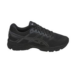 ASICS Men's Black/Dark Grey Gel-Superion Sneaker