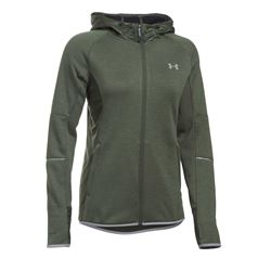Women's jacket in olive by Under Armour at Wertheim Village