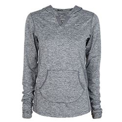 Nike Factory Store Sudadera fina Dri-Fit gris