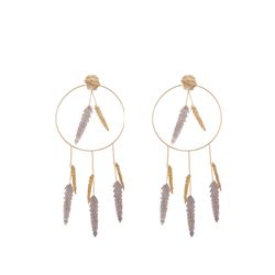 Maje  Nacre earrings from Bicester Village