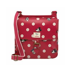 Cath Kidston Mickey & Friends red spot saddle bag