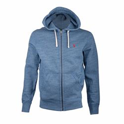 Men's Hoodie in Delta Blue Heather