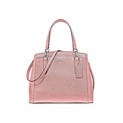 Coach Petal Crossgrain leather minetta crossbody from Bicester Village
