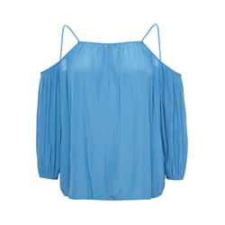 Maje Blue Luciane top from Bicester Village