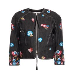 Oscar de la Renta Embroidered Jacket
