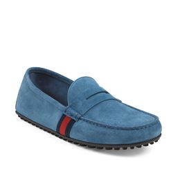 Driver 'Hainan' in thunder suede by GUCCI at Ingolstadt Village