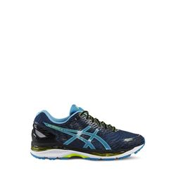'Gel-Nimbus' men's shoes in black-blue by Asics at Ingolstadt Village