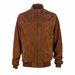 Brooks Brothers Bomber in suede