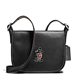 Damen-Handtasche 'Mickey Leather Patricia' in Schwarz von Coach in Wertheim Village