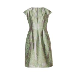 Escada  Green jacquard dress from Bicester Village