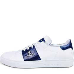 sneaker in white/blue by Philipp Plein at Ingolstadt Village