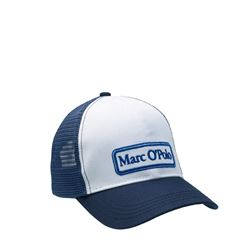 Men's cap in white/blue by Marc O'Polo at Ingolstadt Village