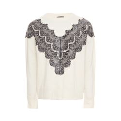 Maje  Cream jumper from Bicester Village