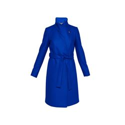 Ted Baker Bright Blue Long Button Wrap Coat
