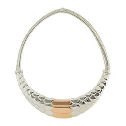 Aristocrazy - Silver snake necklace